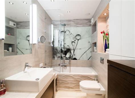 badezimmer klein ideen badezimmer ideen f 252 r kleine b 228 der mit fototapeten