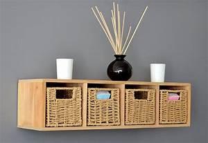 Korb Für Holz : das wandregal als dekoration 18 praktische und sch ne designs ~ Whattoseeinmadrid.com Haus und Dekorationen