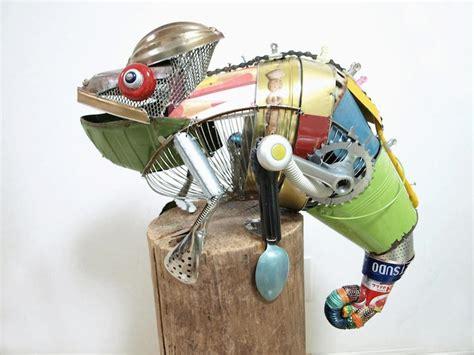 elephant cuisine sculptures animales espiègles faites de matériaux de