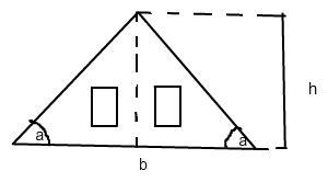 berechnen eines daches mathelounge