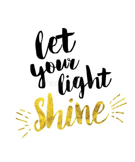 let your light shine let your light shine stock illustration illustration of