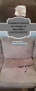 Nettoyer Du Cuir Avec Du Lait : comment nettoyer un canap en microfibres facilement ~ Melissatoandfro.com Idées de Décoration