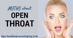 Open Throat For Singing
