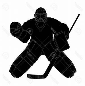 Images Of Hockey Goalie Silhouette Summer