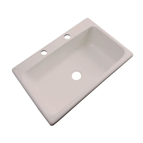 kitchen sinks pictures thermocast manhattan drop in acrylic 33 in 2 single 3041