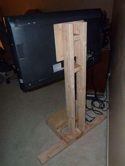 lcd tv floor stand diy tv stand tv floor stand diy tv
