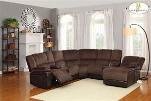 Sofa beds design excellent unique sectional sofas with for Sectional recliner sofa with cup holders in chocolate microfiber