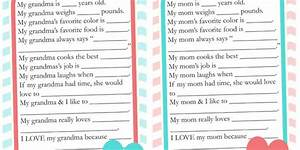 Mother's Day Card & Kid Craft Archives - The Crafting Chicks