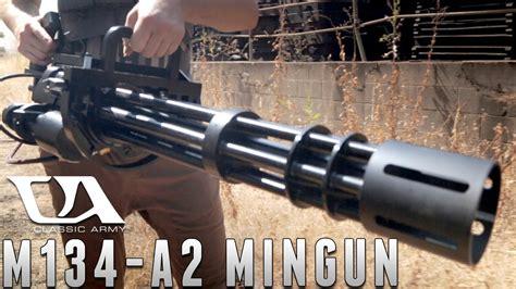 The M134-a2 Minigun From Classic Army [the Gun Corner