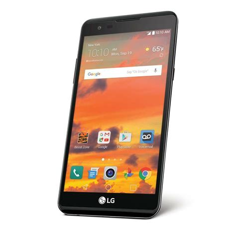 lte in mobile lg x power 16gb lte smartphone for boost mobile new ebay