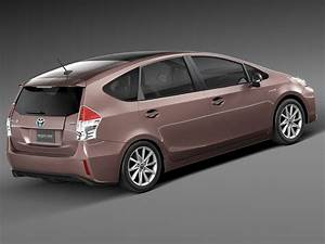 Toyota Prius Versions : toyota prius v 2015 3d model max obj 3ds fbx c4d lwo lw lws ~ Medecine-chirurgie-esthetiques.com Avis de Voitures