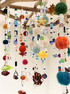 Mobile, Hanging, Mobile, Driftwood, Ceiling, Art, Zen, Art