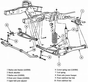 1989 F150 2wd Front Suspension