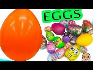 Kinder Surprise Egg Shopkins Chocolate Mystery Blind Bag ...