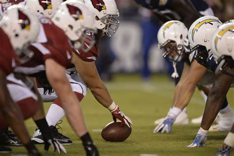 Cardinals Offensive Line Vs. Chargers Defensive
