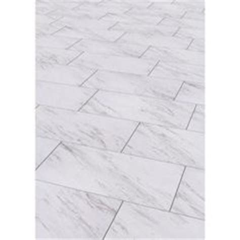 style selections 12 in x 24 in groutable carrara marble