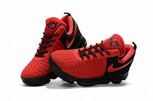 Nike KD 9 Red Black Basketball Shoes | Jordan Sneakers 2017