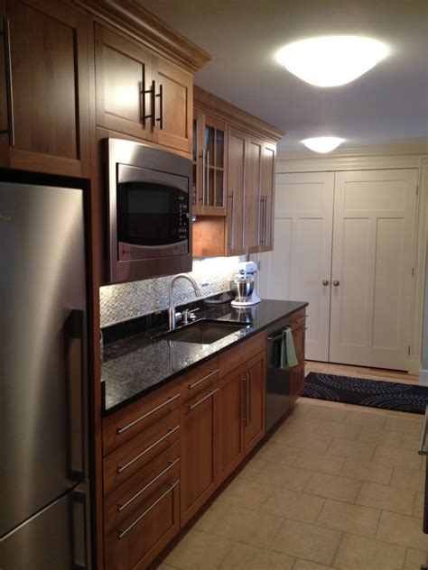 high  boston condominium kitchen  bathroom renovation