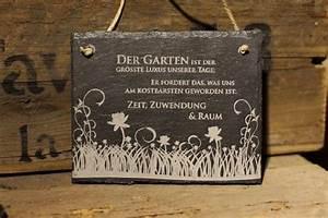 Wanddeko Für Den Garten : wanddeko schiefer schild garten ist der gr sste luxus ~ A.2002-acura-tl-radio.info Haus und Dekorationen