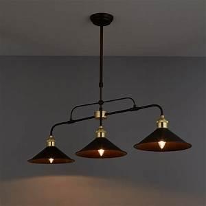 Alfie, Bronze, Effect, 3, Lamp, Pendant, Ceiling, Light