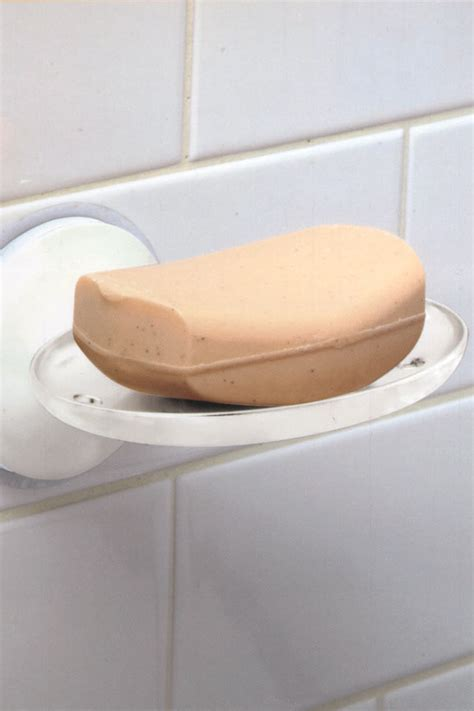 griipa friction mount soap dish