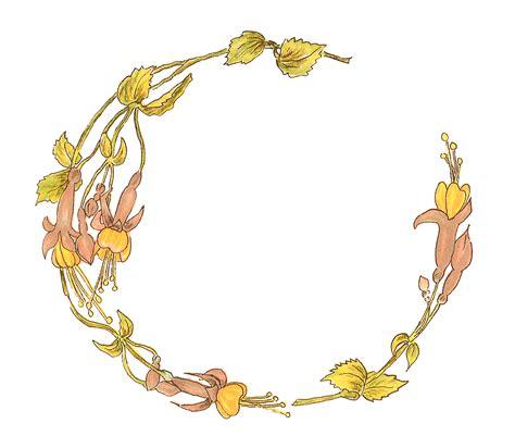 bloemen orakel antique images free printable flower frame digital