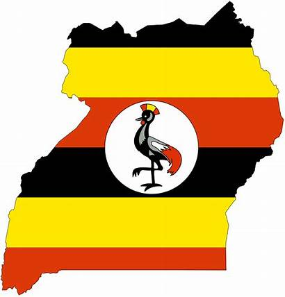 Uganda Flag Much Country Flags