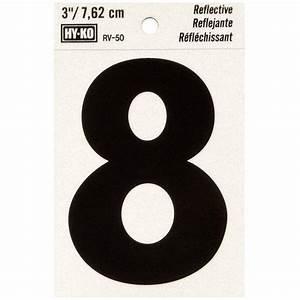 hy ko 2 3 8 in self adhesive vinyl black numbers set mm With home depot vinyl letters