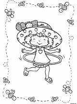 Strawberry Pages Hula Hoop Coloring Shortcake Lola Bunny Printable Cartoon Colouring Drawing Cake Short Charlotte Printing Dessin Characters Backyardigans Heart sketch template