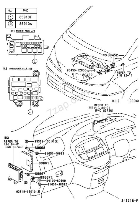 Electronic Fuel Injection System Toyota Estima Acr