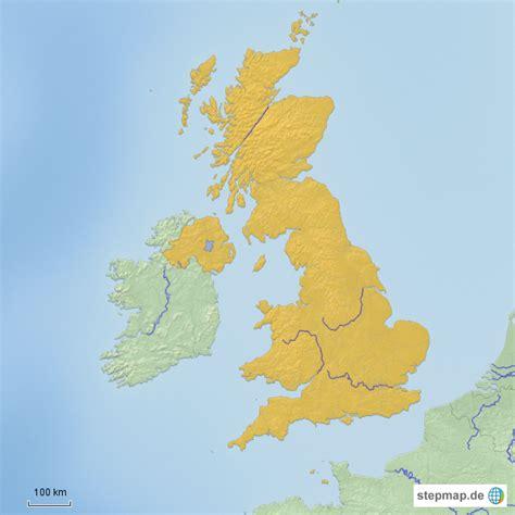 grossbritannien von vobonicki landkarte fuer deutschland