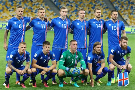 Fifa World Cup Qualifying Game Ukraine Iceland