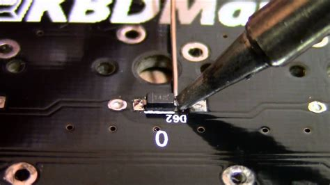 soldering smd diodes youtube