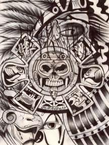 Aztec Brown Pride Art Drawings