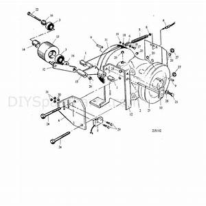 Hayter Condor  511l  Parts Diagram  Slipping Belt Clutch