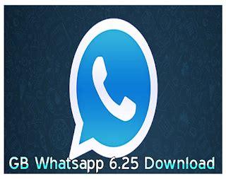 gb whatsapp 6 25 apk version uchetechs