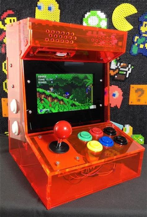 build arcade cabinet with pc build your own mini arcade cabinet with raspberry pi
