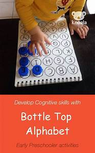 Knoala two to three year old activity 39bottle top for Letter games for 6 year olds