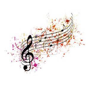papier peint des notes de musique avec des touches de