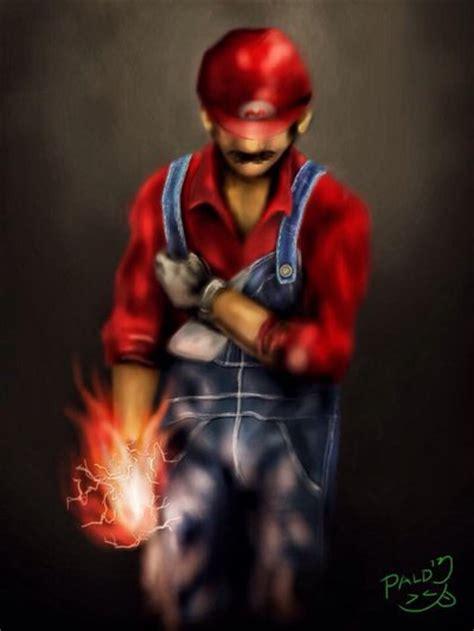 Realistic Super Mario By Paldz On Deviantart