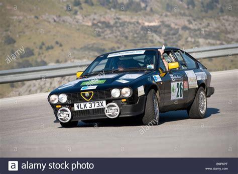 Black 1980 Alfa Romeo Gtv Fast Grand Tourer Coupe Car