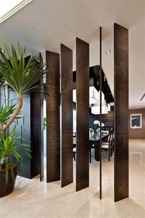 stylish feature wall  partition designs  open