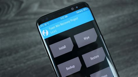 how to install twrp recovery samsung galaxy s8 s8 plus exynos naldotech