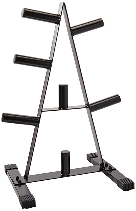 cap barbell olympic   plate rack total  gym