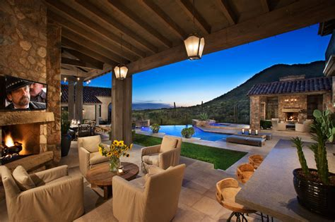 Outdoor Patio Design Ideas by 16 Cozy Southwestern Patio Designs For Outdoor Comfort