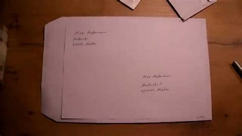 Wie Räuchert Richtig by Umschlag Richtig Beschriften Brief Beschriften