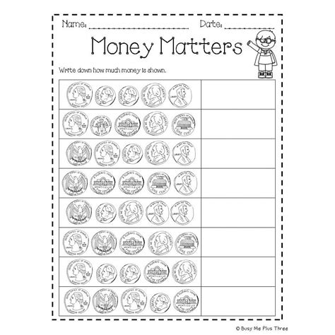 counting coins worksheets grade worksheets for all