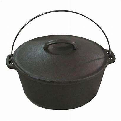 Iron Cast Pot Pots Cookware Clean Cooking