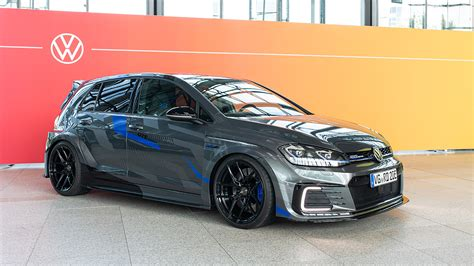 This new one is a completely different beast. Volkswagen Golf GTE HyRACER concept revealed   evo