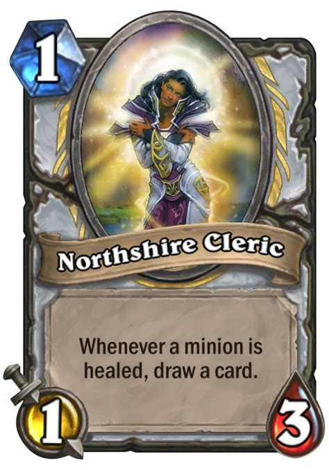 northshire cleric hearthstone card